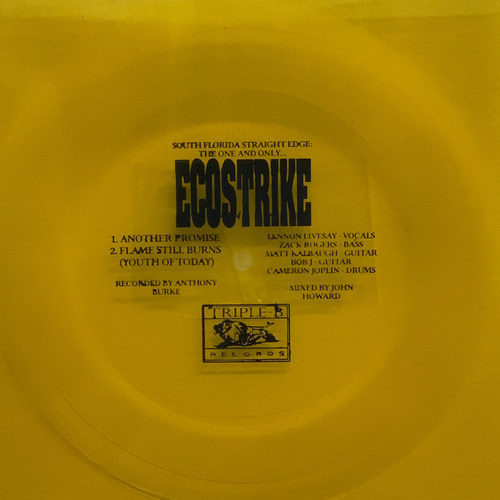 ECOSTRIKE - Another Promise bw Flame Still Burns 7 Flexi Disc Coloured