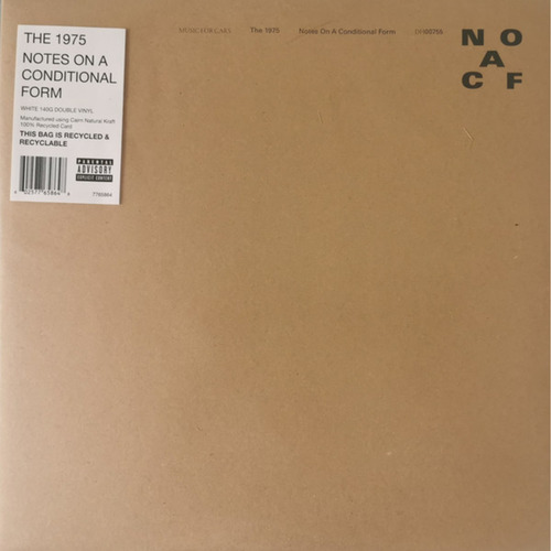 1975, THE - Notes On A Conditional Form 2xLP (Clear Vinyl)