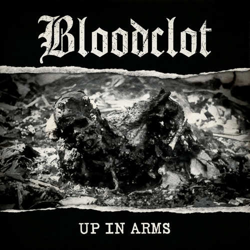 BLOODCLOT - Up In Arms LP (White vinyl)