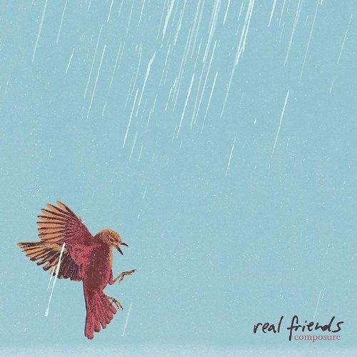 REAL FRIENDS - Composure LP (Opaque Serenity Vinyl)