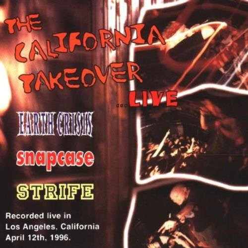 EARTH CRISIS  SNAPCASE  STRIFE - The California Takeover... Live LP Color vinyl