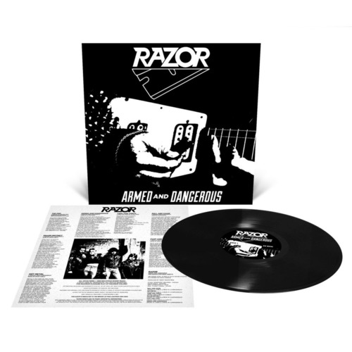 RAZOR - Armed And Dangerous Reissue LP