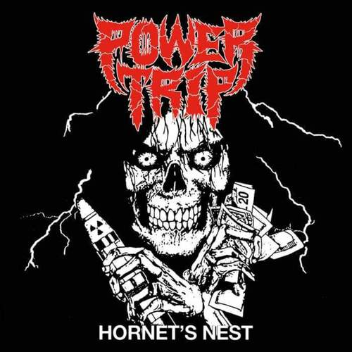 POWER TRIP - Hornests Nest 7 Picture Flexi Disc