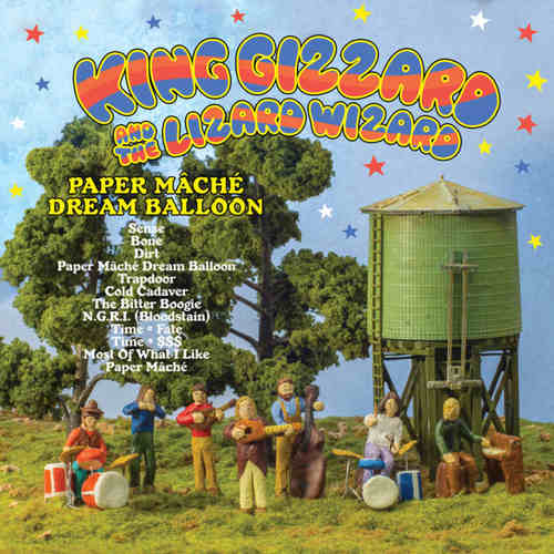 KING GIZZARD AND THE LIZARD WIZARD - Paper Mache Dream Balloon LP Orange vinyl