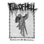 FULL OF HELL - Rudiments of Mutilation LP ClearBlack vinyl