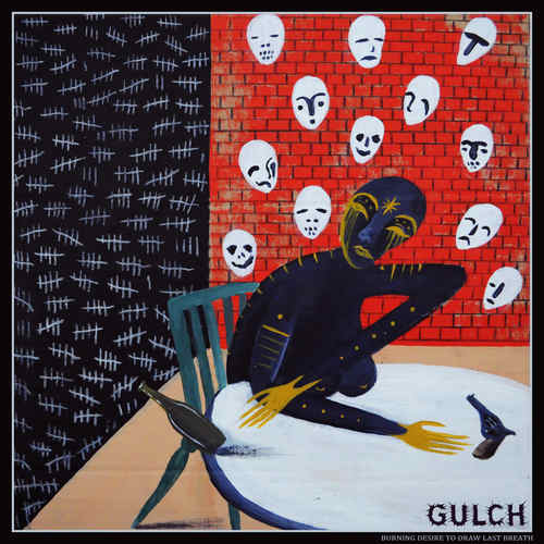 GULCH - Burning Desire To Draw Last BreathDemolition Of Human Construct 10 Colour vinyl
