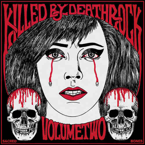 VA - Killed By Deathrock Vol. 2 LP w Poster