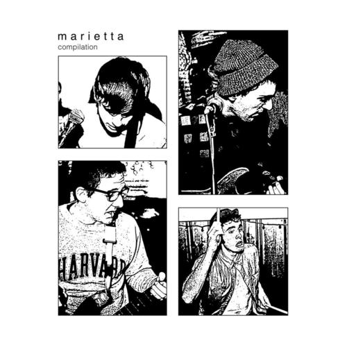 MARIETTA - Compilation LP Clear with Black Centre Vinyl