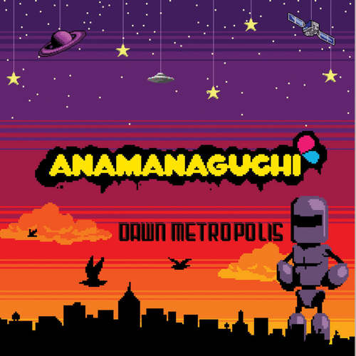 ANAMANAGUCHI - Dawn Metropolis LP (Orange/Maroon/Purple Vinyl)