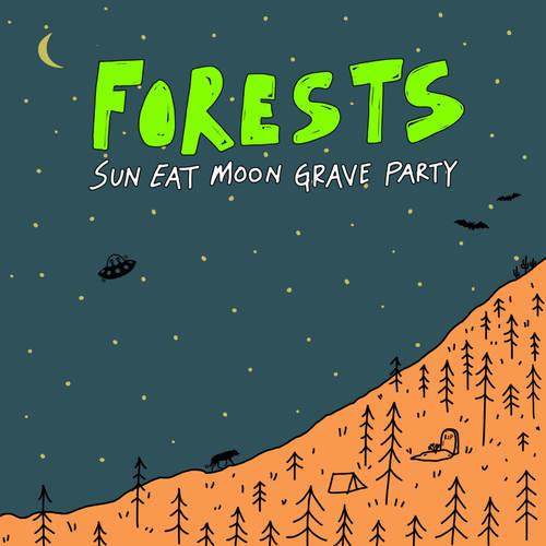 FORESTS - Sun Eat Moon Grave Party LP