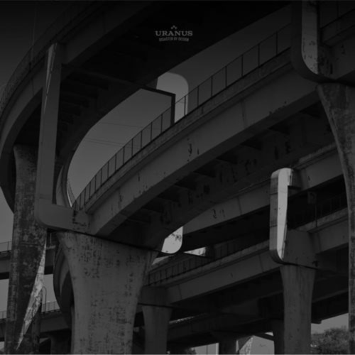URANUS - Disaster By Design LP RedGrey vinyl