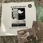 RUDIMENTARY PENI - Live Nottingham, Yorker Club 010882 LP Black Vinyl