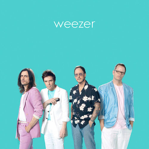 WEEZER - S/T (Teal Album) LP