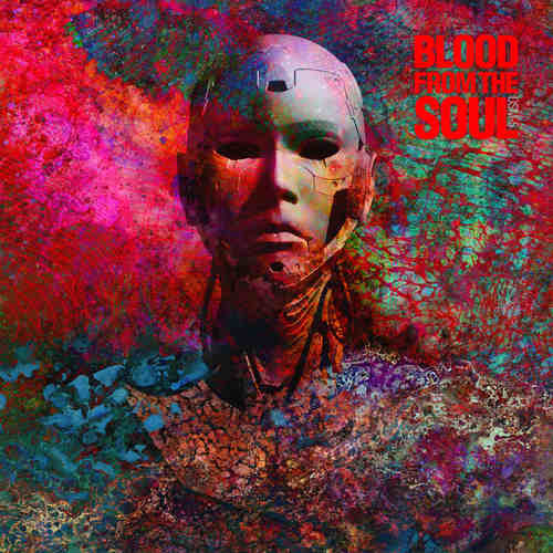 BLOOD FROM THE SOUL - DSM-5 LP Hot Pink UItra  Clear Half & Half vinyl