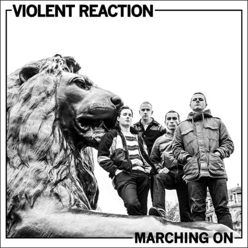 VIOLENT REACTION - Marching On LP (Green Vinyl)
