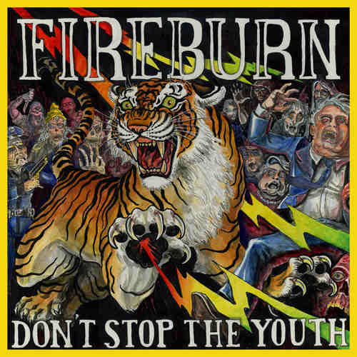 """FIREBURN - Don't Stop The Youth 12"""" (Clear vinyl)"""