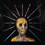 END - Splinters From An Ever-Changing Face LP Black in Clear With Red Splatter vinyl