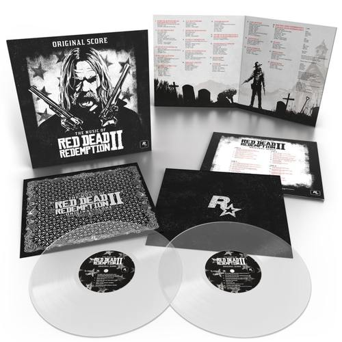 V/A - The Music Of Red Dead Redemption 2: Original Score 2xLP (Colour Vinyl)