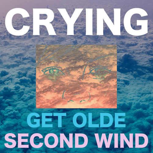 CRYING - Get Olde / Second Wind LP (Orange / Green / Pink Starburst Vinyl)