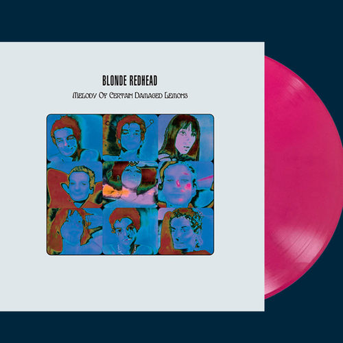 BLONDE REDHEAD - Melody Of Certain Damaged Lemons LP 20th Anniversary 180-gram Magenta Pink