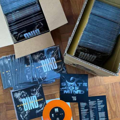 "BIND - State of Mind 7"" (Colour Vinyl)"