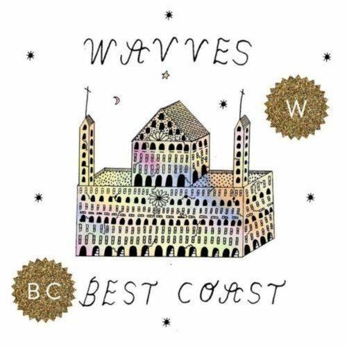 """BEST COAST / WAVVES - Dreams Of Grandeur: Split 7"""" (Colour Vinyl)"""