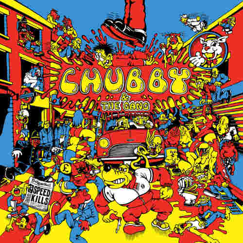 CHUBBY & THE GANG - Speedkills LP