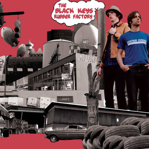 BLACK KEYS, THE - Rubber Factory LP 180g