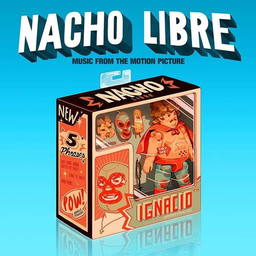 VA - Nacho Libre Music From The Motion Picture 2xLP Red Vinyl