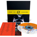 NOTHING - The Great Dismal LP (Neon Orange & Milky Clear Split w/ Neon Orange & Royal Blue Splatter)