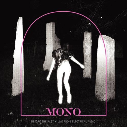 MONO - Before The Past Live From Electrical Audio LP Crystal Clear w Pink Smoke Colored Vinyl