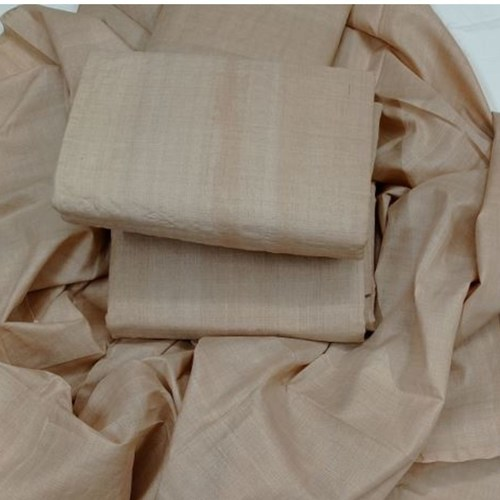Tussar Fabric (Tussah) Handwoven with Silk Mark