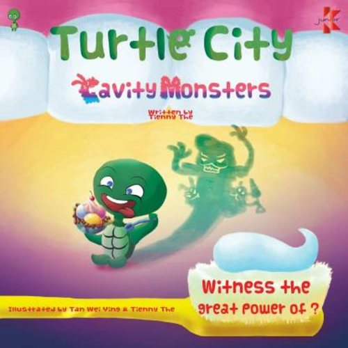 Turtle City Cavity Monsters by Tienny The  English, Paperback