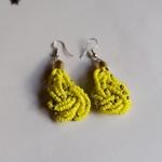 Yellow Masaai Earring