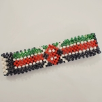 Kenyan flag bracelet