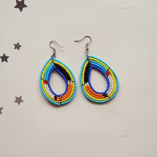 maasai Multicolour  earring