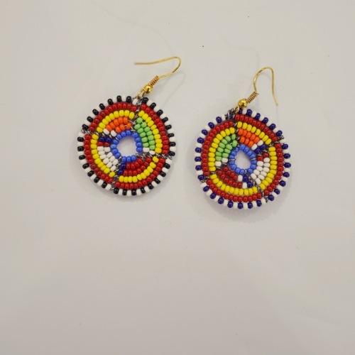 Round masai Earring