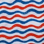 red blue strip