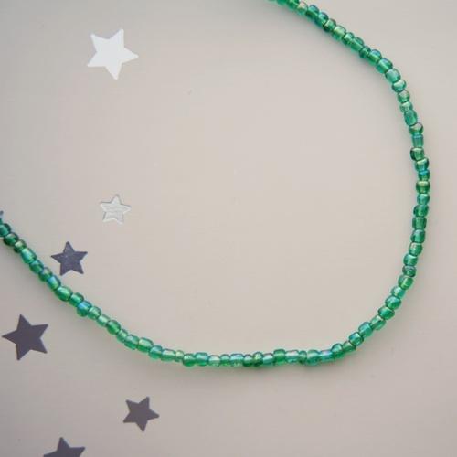 Beautiful Green Colour Maasai tribal Necklace.
