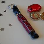 Masai Carved Keychain
