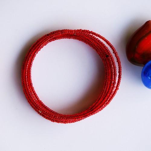 Traditional Red Maasai beaded Bracelet