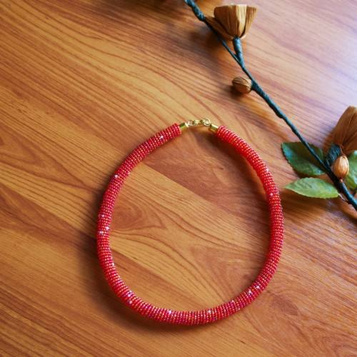 Authentic Maasai beaded  Necklace