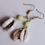 Shell and Beads Masai Earring