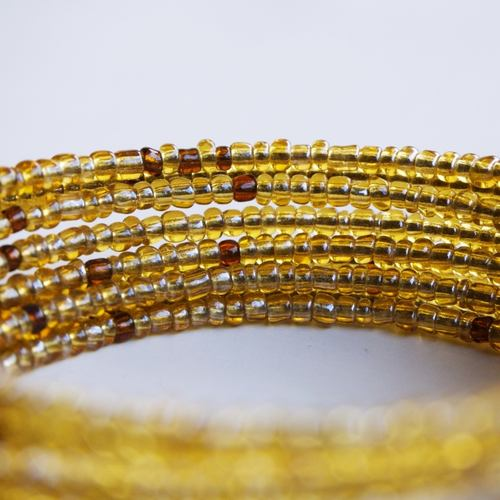Shiny spiral coil African inspired bracelets
