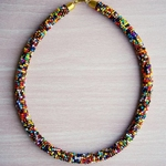 Multicolour Beaded Maasai Necklace