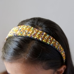 african masai headband