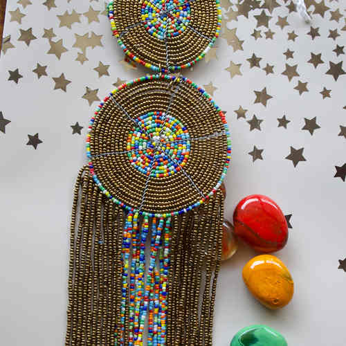 African masaai necklace Home decor