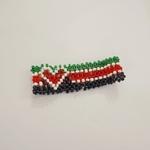 Kenyan Flag Themed Authentic African Maasai Bracelet