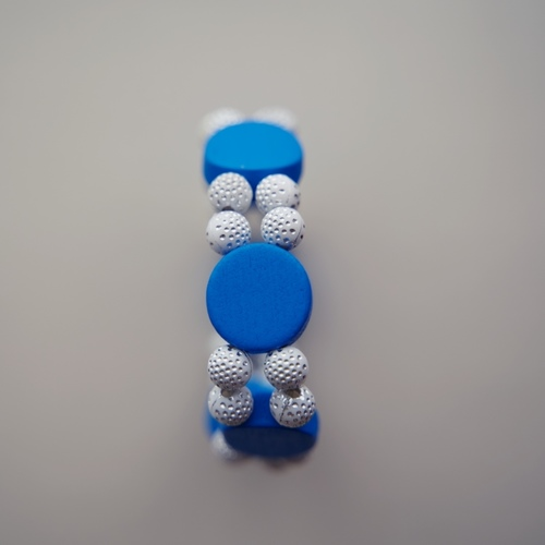 Beautiful Blue and White Bracelet for Women.