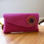 Maasai beaded purse/ Clutch bag / purses / African clutch bags Pink